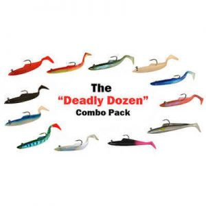 SIDEWINDER SANDEELS DEADLY DOZEN COMBO PACK