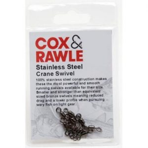 COX & RAWLE STAINLESS STEEL CRANE SWIVELS