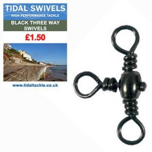 TIDAL BLACK 3 WAY SWIVELS