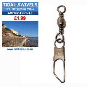 TIDAL AMERICAN SNAP SWIVELS