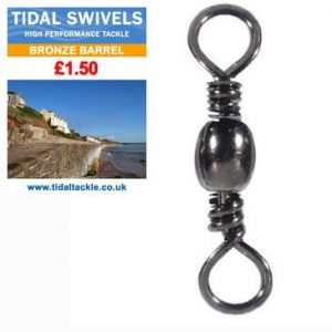 TIDAL BRONZE BARREL SWIVELS
