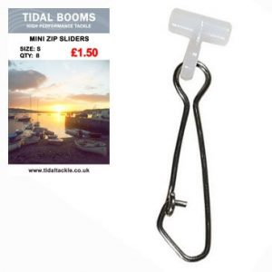 Tidal Mini Zip Sliders