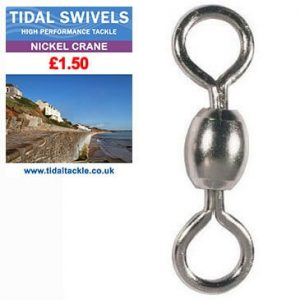 TIDAL NICKEL CRANE SWIVELS